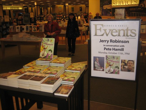 JERRY AND PETE HAMILL at Barnes and Noble - 9