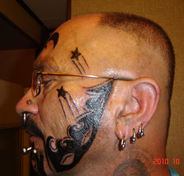 my new face tattoos 003