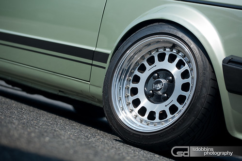 "Tobi's Mk1 VW Jetta Coupe on 14"" Image Billet 60's - 9572"