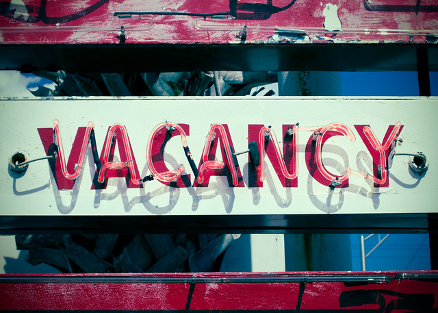 Vacancy from Flickr via Wylio