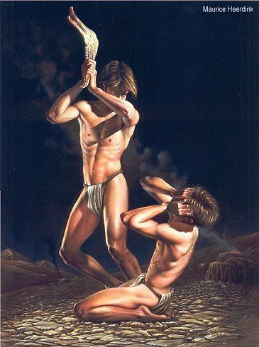 cain and abel by Maurice Heerdink