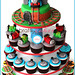 Thomas and Friends Cupcake Tower