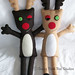 Reindeer Buddies Plush Dolls