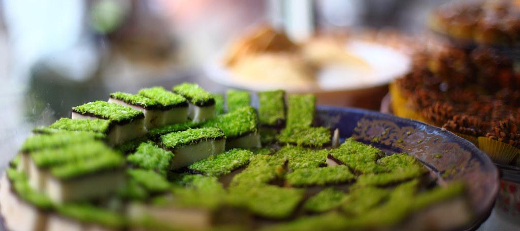 Pistachio delicacies