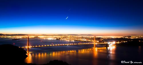 city twilight san francisco view moment