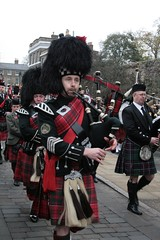 festival, musician, clothing, kilt, marching, costume, bagpipes, wind instrument,