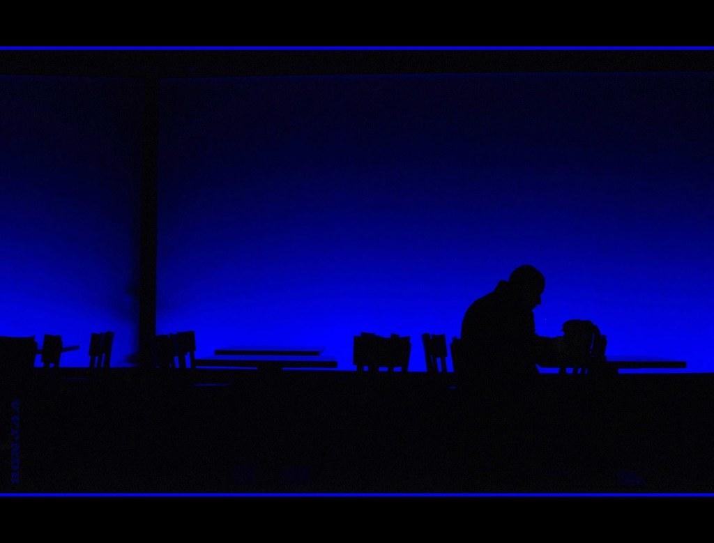 blue area