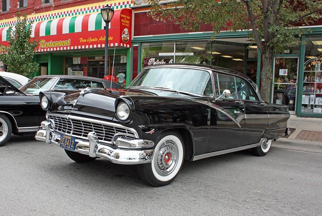 1956 ford fairlane victoria 4 door hardtop 5 of 13 for 1956 ford fairlane 4 door