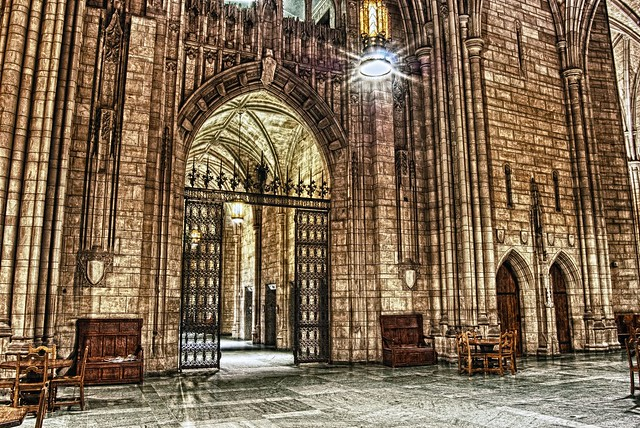 Cathedral of Learning Archway HDR