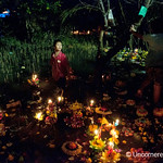 Working the Waters on Loi Krathong Festival - Bangkok, Thailand