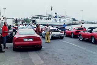 Ferrari Club meet, Corfu