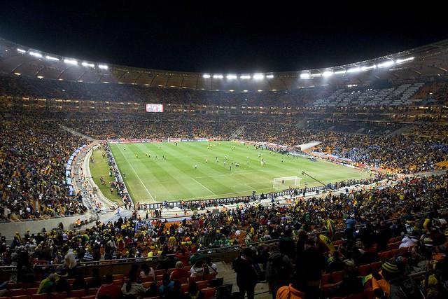 Soccer Stadium   This photo was taken on July 2, 2010 inside\u2026   Flickr - Photo Sharing!