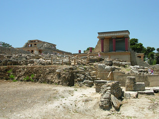 Knossos at Crete, Greece