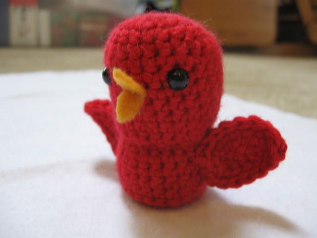 Crochet Cardinal Flickr - Photo Sharing!