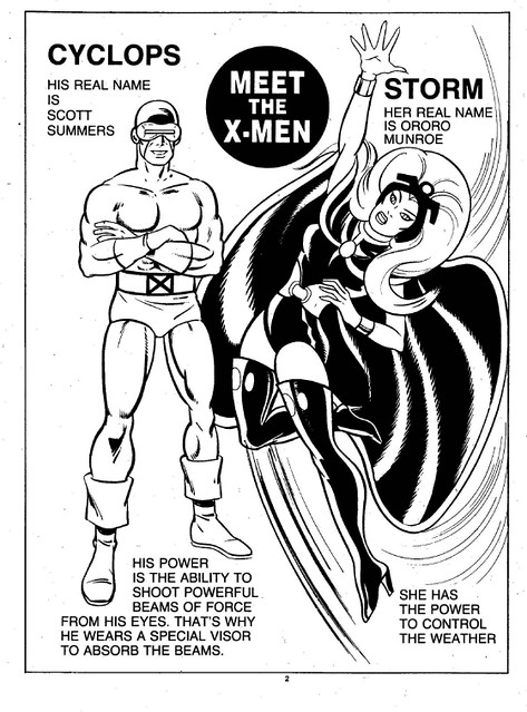 X-Men Super Activity Book00003