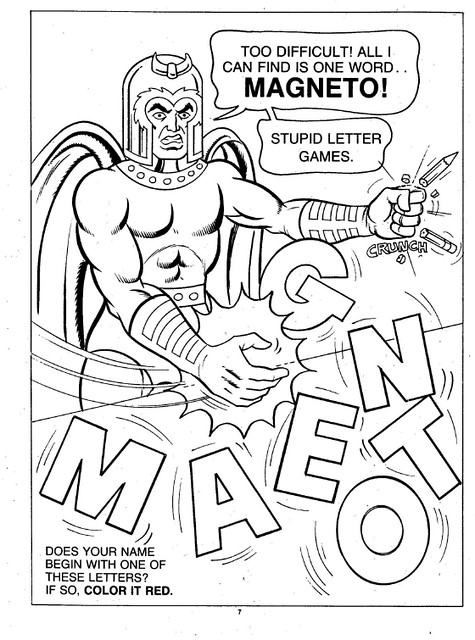 X-Men Super Activity Book00008