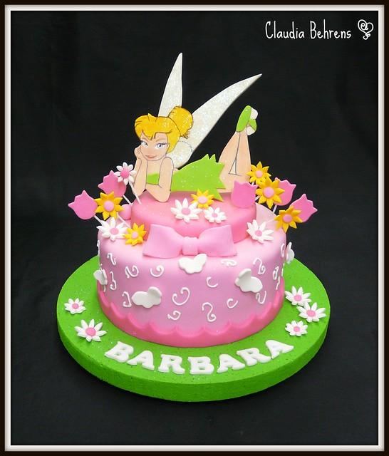 tinkerbell cake barbara - claudia behrens   Flickr - Photo ...