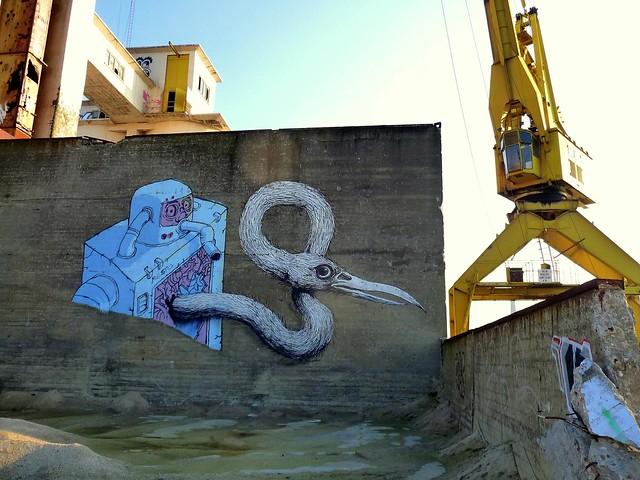 graffiti | roa . resto | gent