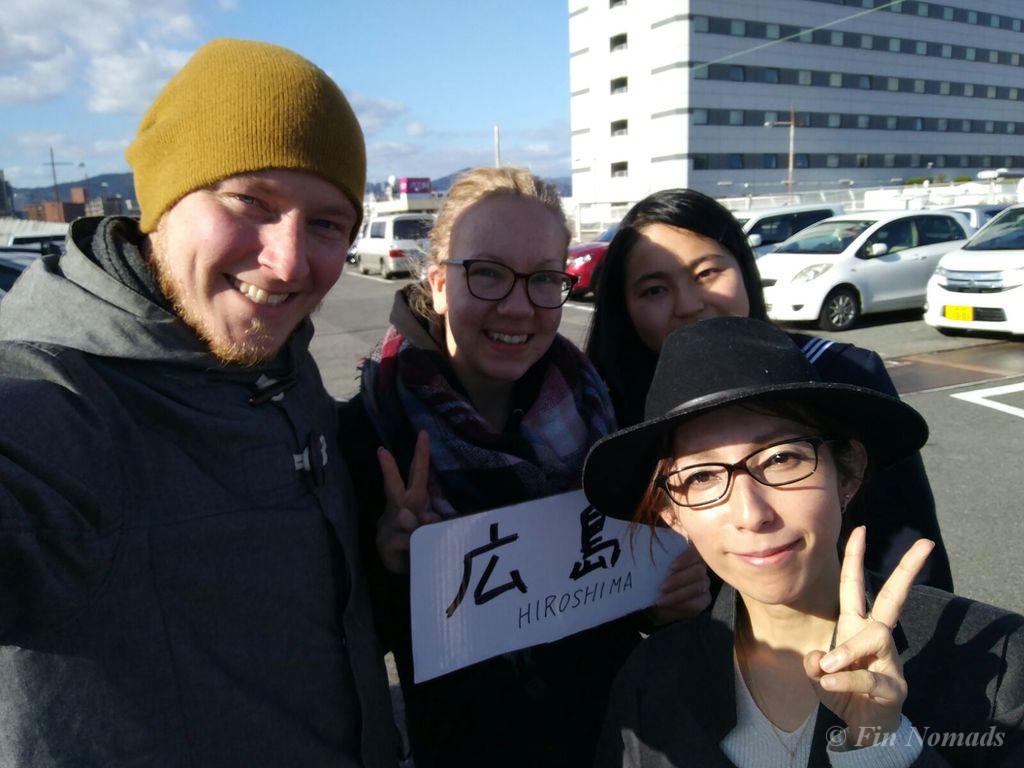 hitchhiking japan hiroshima