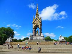 Albert Memorial (aka Prince Albert Memorial) - London, U.K. May 2017