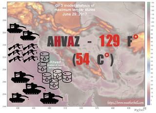 Ahvaz 129 F°