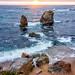 Rock Garden, Big Sur, California by Rod Heywood