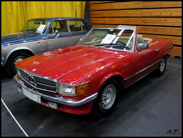 1983 mercedes benz 280 sl r107 a photo on flickriver. Black Bedroom Furniture Sets. Home Design Ideas