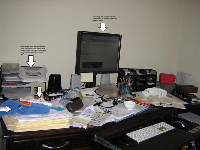 my desk 30july2010