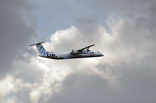 Day 121 August 31st - Flybe Bombadier Q400