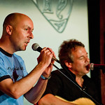 Christopher Brookmyre & Billie Franks | Performing togther at the 2010 Book Festival in Unbound.