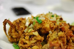 Salt and Pepper Soft Shell Crab - close-up - Tan Lac Vien AUD25