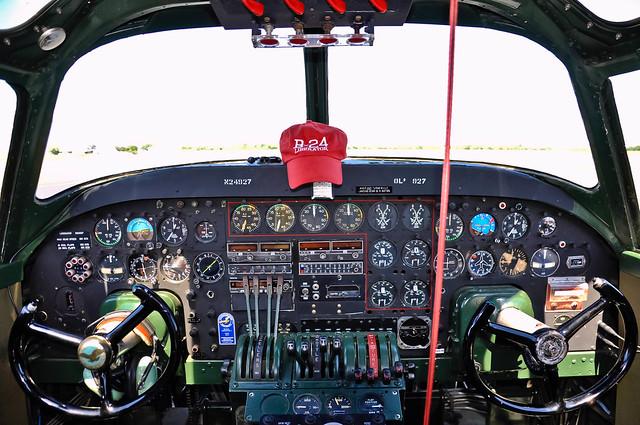 B24 Cockpit  Consolidated  B24 Cockpit