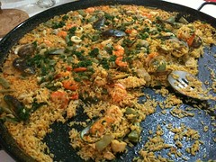 produce(0.0), paella(1.0), food(1.0), dish(1.0), kabsa(1.0), cuisine(1.0),