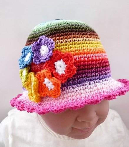 Baby Hat Fleur