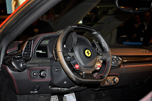 Supercar Supercar Ferrari 458 Italia Interior Ferrari 458 Italia