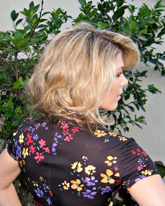 faux bob hair style - side