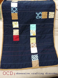 Modern Meadow quilt back 1