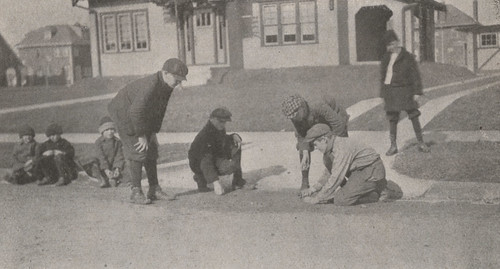 Game of Marbles, 1919