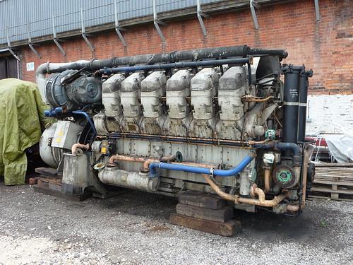Class 37 diesel engine