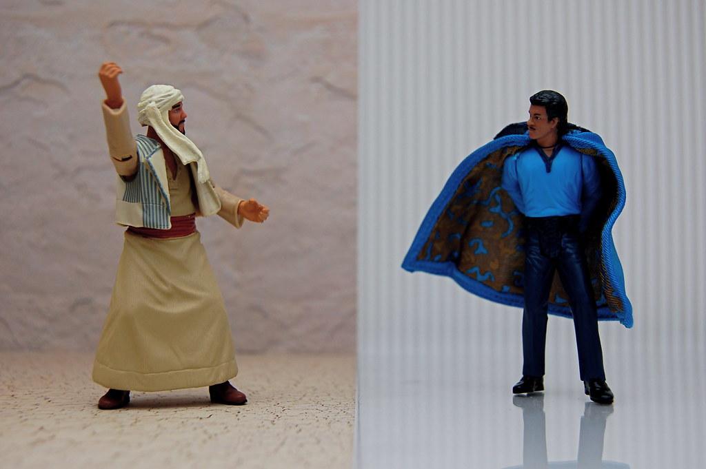 Sallah Mohammed Faisel el-Kahir vs. Lando Calrissian (252/365)