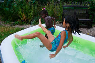Backard Inflatable Pool Stevendepolo Via Flickr