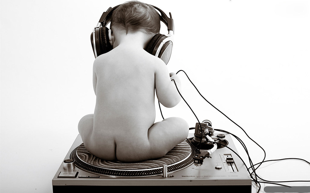 Baby Listenning to m