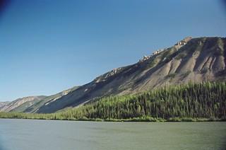 Nahanni Canoers Route up Sunblood Mtn