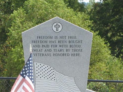Highland Home Flying Squadron jet - veterans memorial