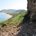"Playa de Vega desde ""la Paredona"" (Berbes, Asturias)"