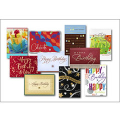 Birthday Card Assortments for Business