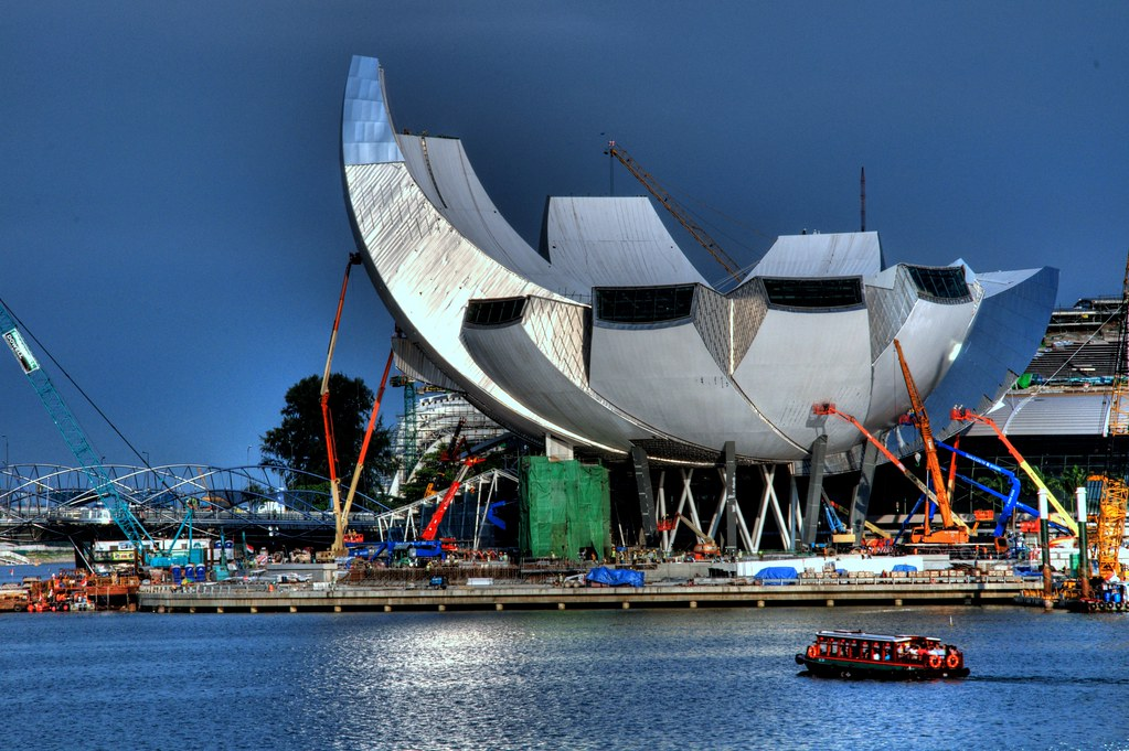 The changing faces of Singapore 不断变化和进步的新加坡 ...