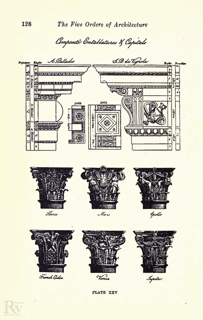 Five orders of architecture 1910 flickr photo sharing for 5 orders of architecture