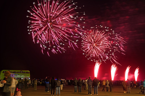Blackpool fireworks competition