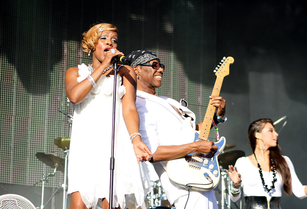Chic Nile Rodgers Kim Davis Chic Live At Bestival 2010 Flickr